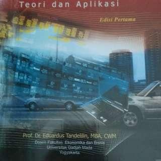 Buku Portofolio dan investasi dari Eduardus Tandelilin