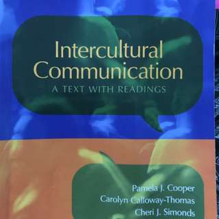 GES1031 Textbook (Intercultural Communication)