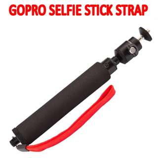 TGP047 Red Strap Monopod Selfie Stick Gopro hero Session Xiaomi Yi Camera Accessories