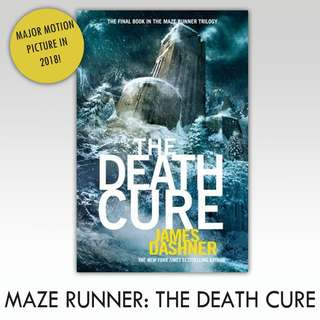 Maze Runner: The Death Cure (Last of trilogy) ebook