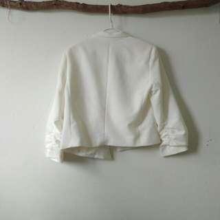 Slimming White Jacket