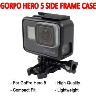 TGP069 Side Frame House Case Plastic Protection Case for GoPro Hero 5 Brand New