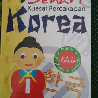 Buku Bahasa Korea