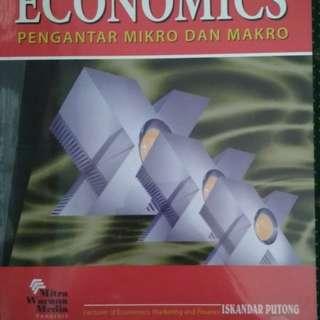 Buku Pengantar Ekonomi Mikro dan Makro dari Iskandar Putong