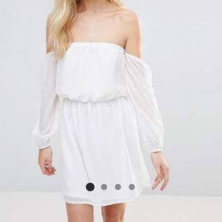 Glamorous Off Shoulder Dress / S