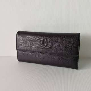 Authentic Chanel Sarah Wallet