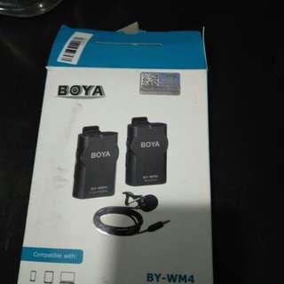 Boya wireless Lavelier Mic set