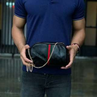 Promo travel sling bag / wristlet