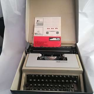 Old portable type writer