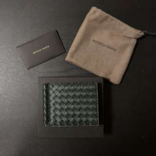 情人節禮物首選 ❤️ Bottega Veneta money clip bi-fold wallet BV wallet