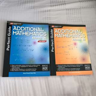 Perfect guide Additional math books