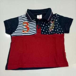 Baju Baby Polo Size 6-12bln