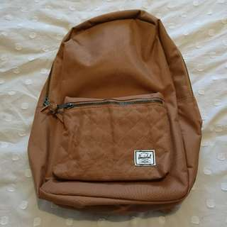 Herschel settlement backpack Caramel