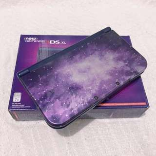 *Repriced* New Nintendo 3DS XL Galaxy Style + Charger + 1 Free Game