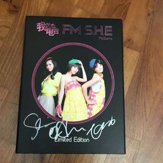 Autographed FM SHE Stamps Limited Edition