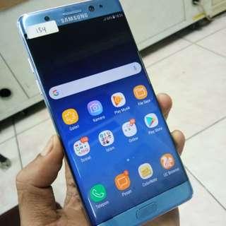 Samsung note fan edition blue coral unit casan 6900