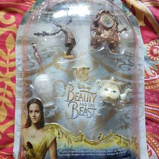 Beauty and the Beast Characters Figures , Mrs Potts , Cogsworth , Lumiere etc