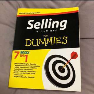 #Contiki2018 Selling All-In-One for Dummies