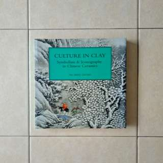 Soft Cover Culture In Clay 📄 392 book condition 9/10