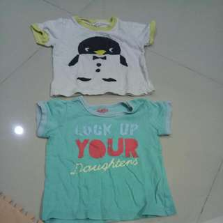 Kaos Penguin N Sea Blue Size Up To 2thn