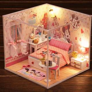diy mini house ready stock valentine gift