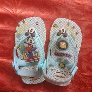Authentic Havaianas Mickey Mouse