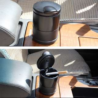 Portable Car Ashtray With LED