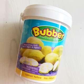 Bubber dough for moulding