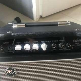 Brand new RJ Soundwave bass amplifier 20-watt