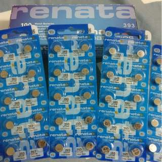 Misfit Ray Batteries 393 Renata