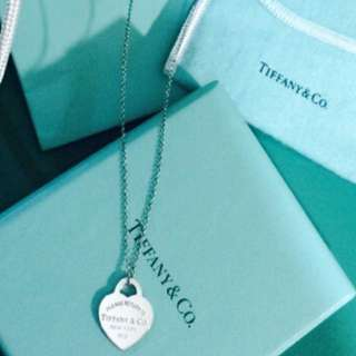 🚚 Tiffany愛心項鍊 正品(二手)