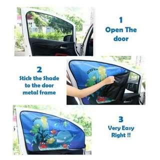 Children / Baby Magnetic Sun / window Shield