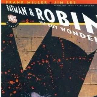 All Star Batman And Robin, The Boy Wonder #2-10