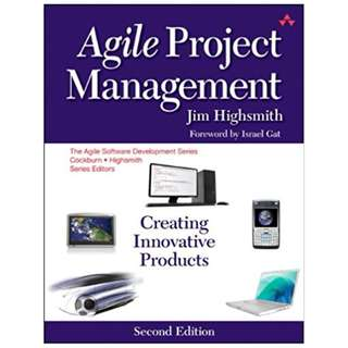 Agile Project Management: Creating Innovative Products (Agile Software Development Series) 2nd Edition BY Jim Highsmith