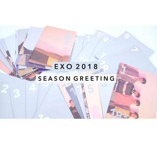 EXO 2018 season's greetings