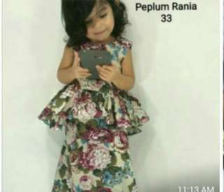 Peplum rania batch 3