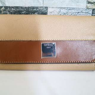 Guess Wallet Brown
