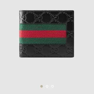 Authentic Gucci Signature Web Wallet