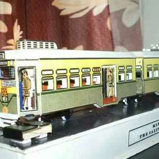 Showcase Calcutta Tram Model