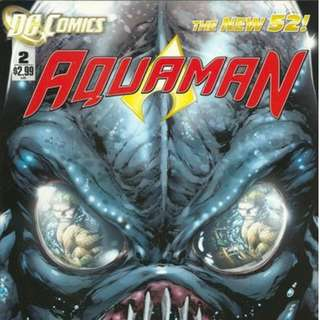 Aquaman v7 #2-6, 10-13 (New 52)