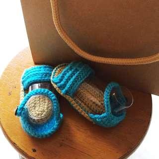 🚚 全新嬰兒針織毛鞋
