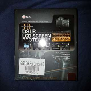 Canon 6D DSLR screen protector