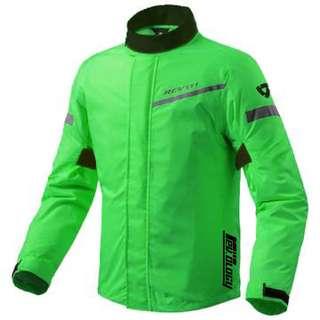 Green Rev'it Raincoat