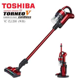 🔥🔥旋轉最便宜🔥🔥<新禾公司貨>全新TOSHIBA-VC-CL1200 手持無線吸塵器(紅)
