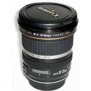RENTAL‼️Canon Wide Angle USM Lens 10-22mm f3.5-4.5