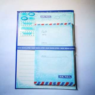 PRE💙D Airmail Letter Stationery Set