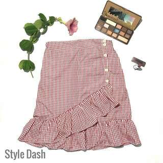 ❗SALE❗Gingham Skirt
