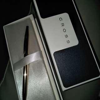 Authentic Cross 14K gold filled pen