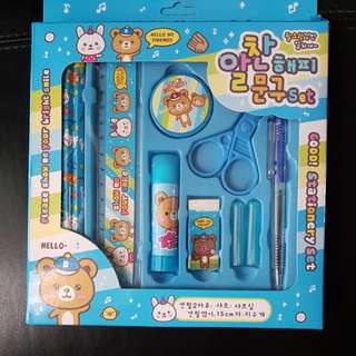 8 pcs stationery set