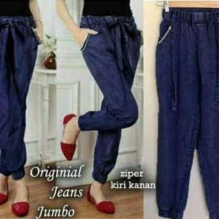 Cln jogger jeans wash jumbo blue 7240